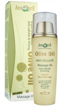 Anti cellulite massasje olje
