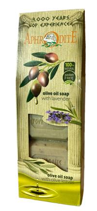 Soap – Olive oil + lavendel