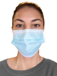 3-lags Medisinske munnbind type IIR (pakke med 10 stk )
